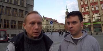 Andrzej Dołecki oraz Bogdan Jot we Wrocławiu